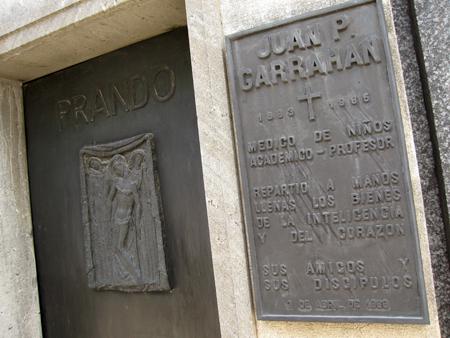 Recoleta Cemetery, Buenos Aires, Juan Pedro Garrahan