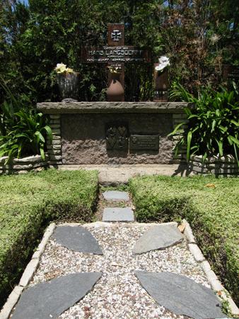 Cementerio Alemán, Capt Hans Langdorff