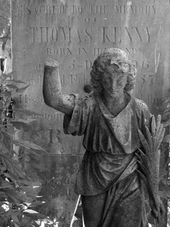Thomas Kenny, Recoleta Cemetery