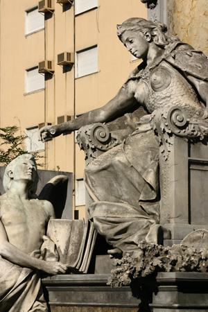 Recoleta Cemetery, Buenos Aires, Virgilio Tedín