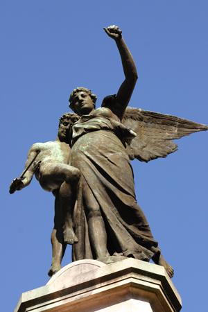 Recoleta Cemetery, Buenos Aires, Caídos en la Revolución del 1890
