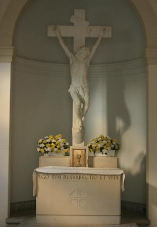 Buenos Aires, Recoleta Cemetery, entrada, capilla, Giulio Monteverde