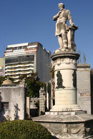 Recoleta Cemetery, Buenos Aires, Valentín Alsina