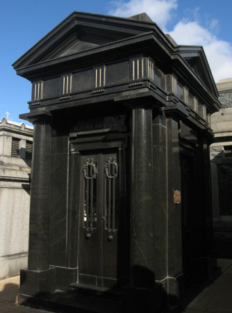 Recoleta Cemetery, Buenos Aires, Kevork Akrabian