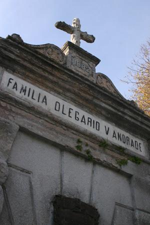 Buenos Aires, Recoleta Cemetery, Olegario Víctor Andrade
