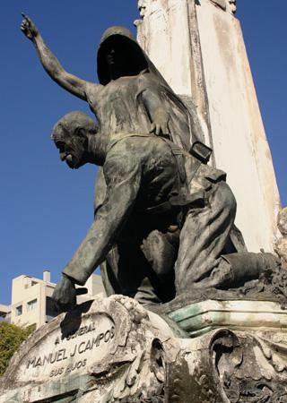 Buenos Aires, Recoleta Cemetery, Manuel J. Campos, José Llaneces