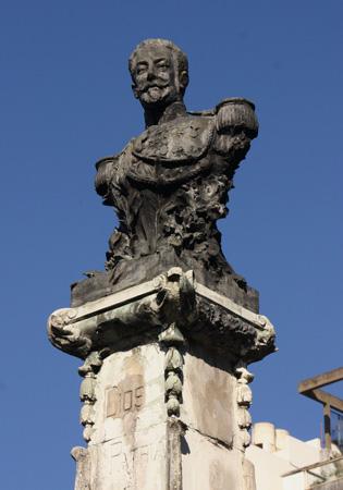 Buenos Aires, Recoleta Cemetery, Manuel J. Campos