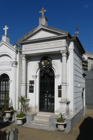 Recoleta Cemetery, Buenos Aires, José Hernández