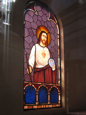 Recoleta Cemetery, Buenos Aires, Otto Krause, stained glass