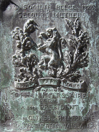 Recoleta Cemetery, Buenos Aires, Héctor de Glymes de Hollebecque