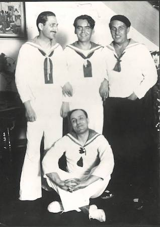Jorge Larco, Federico García Lorca, Buenos Aires