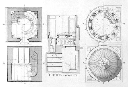 Familia Leloir, architectural diagrams
