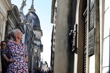 Recoleta Cemetery, Clarín, Buenos Aires, Margrethe II, Queen, Denmark