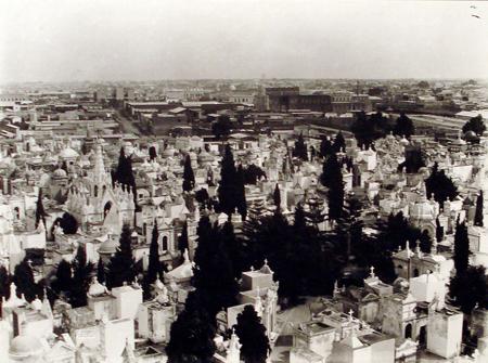 Recoleta Cemetery, Buenos Aires, Colección Witcomb