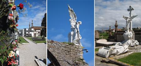 España, Spain, Comillas, cemetery
