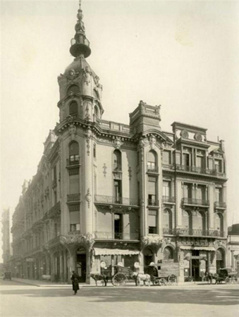Buenos Aires, Plaza Lavalle, Palacio Costaguta, Alfred Massüe, Art Nouveau