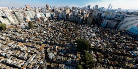 Buenos Aires, Recoleta Cemetery, Infobae, Thomas Khazki, gigapixel