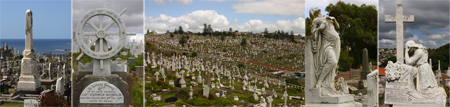 Australia, Sydney, Waverley, cemetery