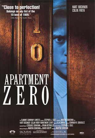 Recoleta Cemetery, Apartment Zero, movie, poster